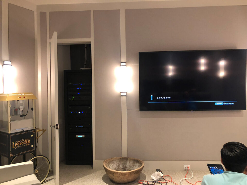 Sony 4K TV for Private Home Theater