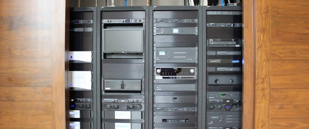 Audio/Visual Rack systems by Caldwell