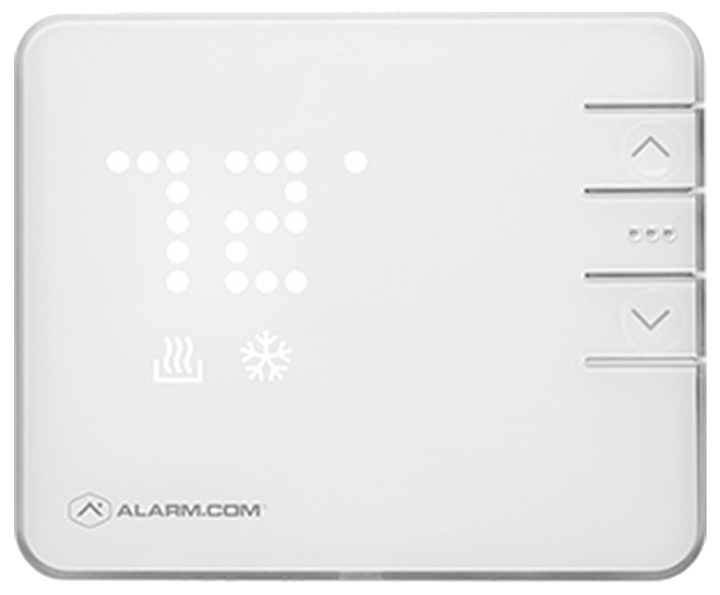 alarm dot com smart thermostat