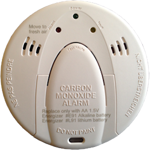Security Alarm carbon monoxide detector