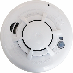 smoke detector for alarm system