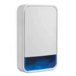 Wireless outdoor siren for DSC