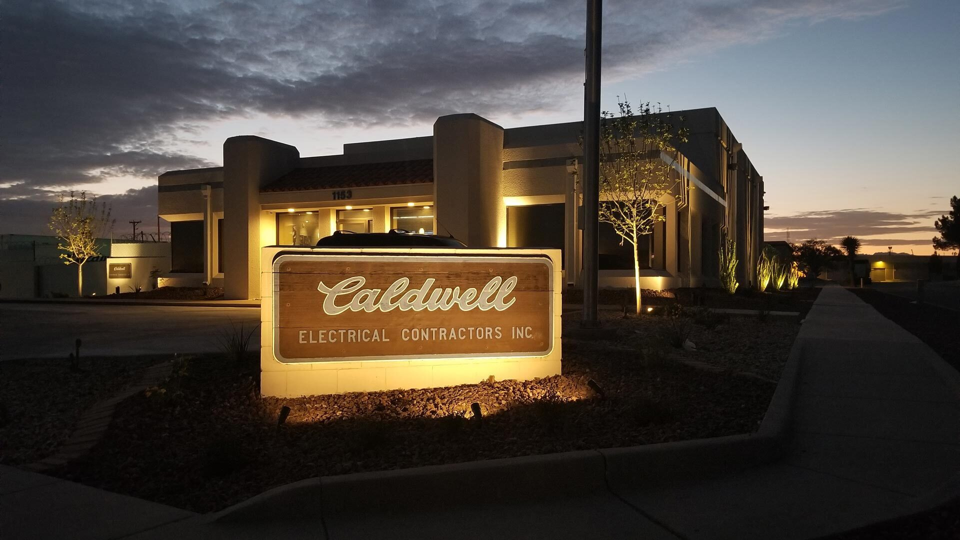 Caldwell Electrical Contractors Office